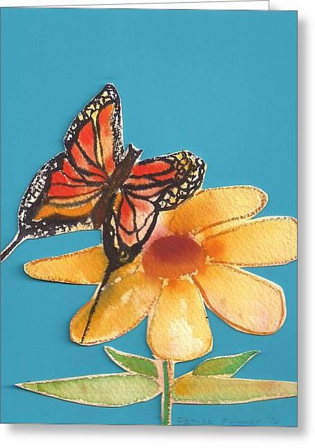 Butterflower Greeting Card