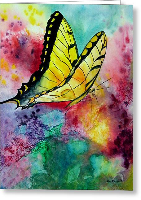 Butterfly 2 Greeting Card by Dee Carpenter