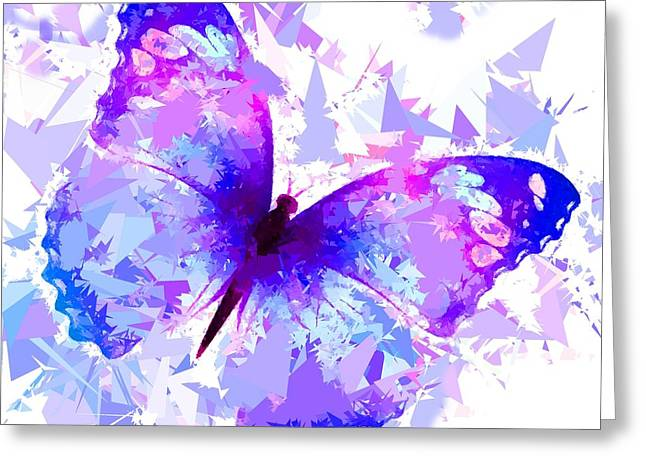 Butterfly 321 Greeting Card by Movie Poster Prints