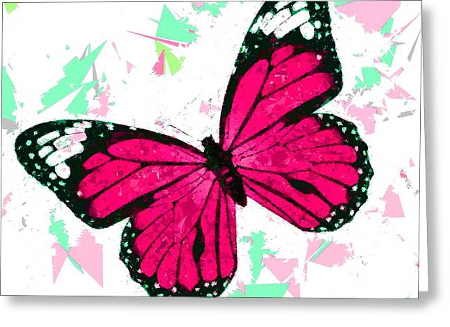 Butterfly 322 Greeting Card by Movie Poster Prints
