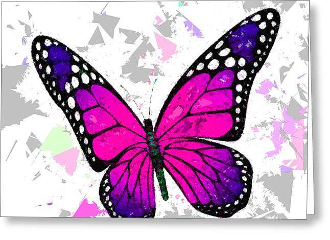 Butterfly 323 Greeting Card by Movie Poster Prints