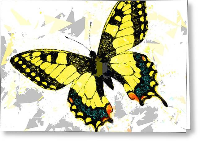 Butterfly 326 Greeting Card by Movie Poster Prints