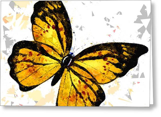 Butterfly 328 Greeting Card by Movie Poster Prints