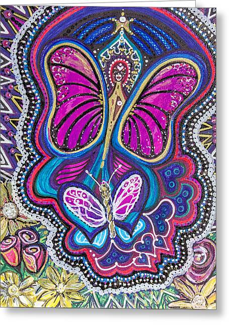 Butterfly Angels Greeting Card