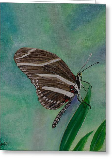 Butterfly Greeting Card by Arohika Verma