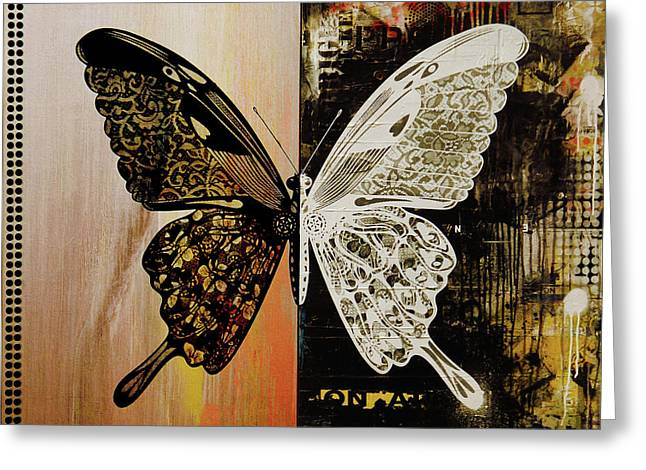Butterfly Art 78y Greeting Card by Gull G