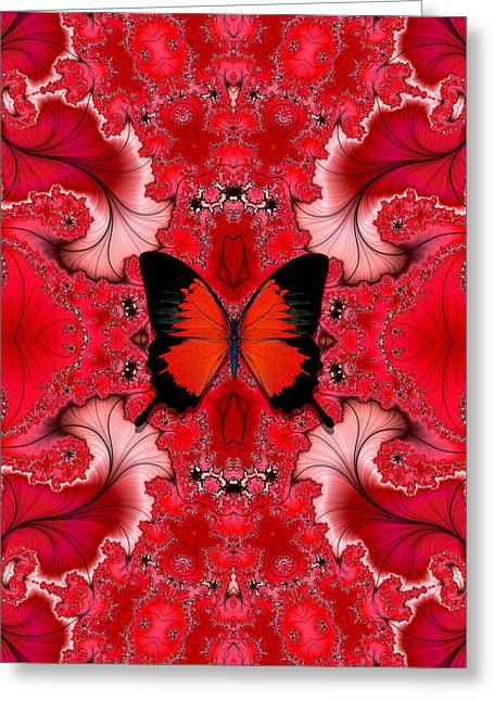 Butterfly Dream Phone Case Greeting Card by Lea Wiggins