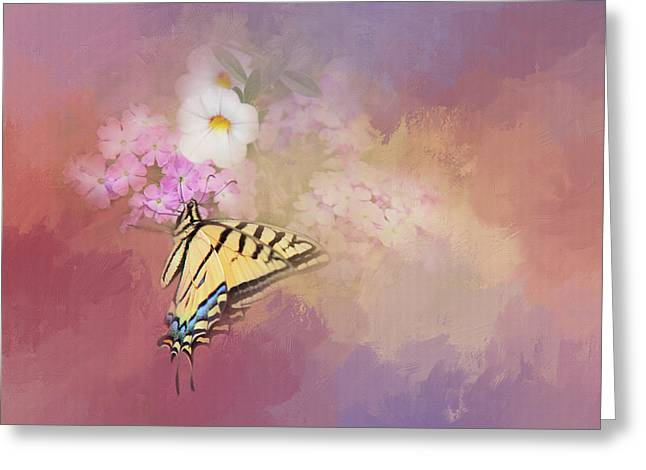 Butterfly Dreams Greeting Card by Theresa Tahara