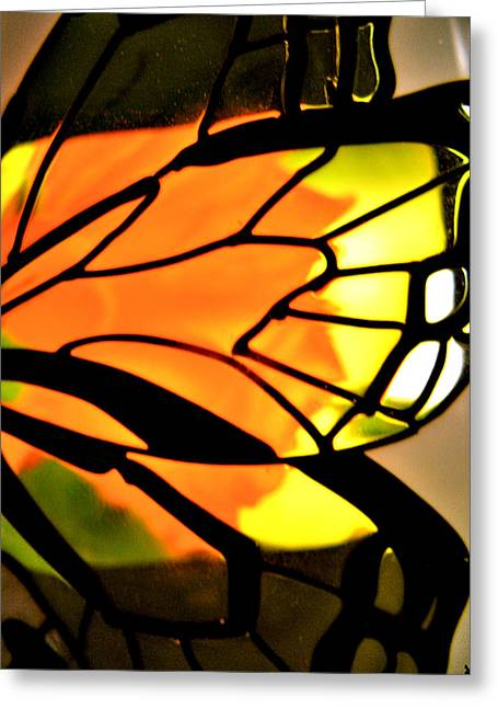Butterfly Florals  Collection C Greeting Card by Debra     Vatalaro