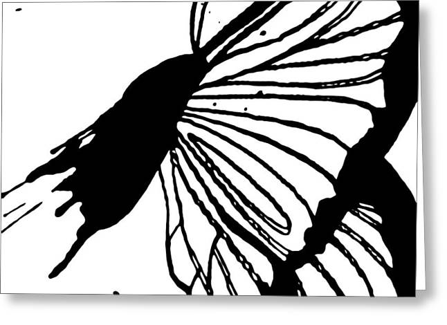 Butterfly Flying High Greeting Card