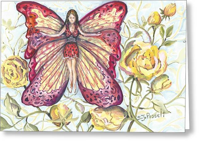 Butterfly Grace Fairy Greeting Card