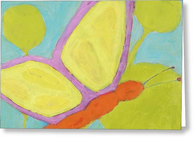 Butterfly Greeting Card by Laurie Breen