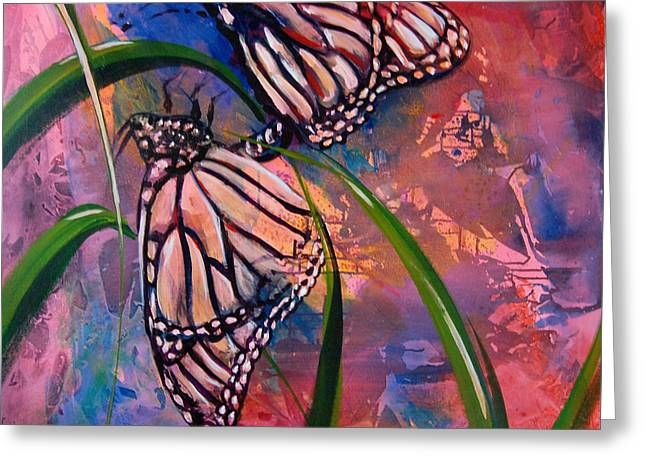 Butterfly Love Greeting Card