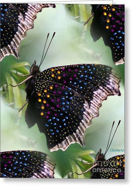 Butterfly Sunbath #2 Greeting Card