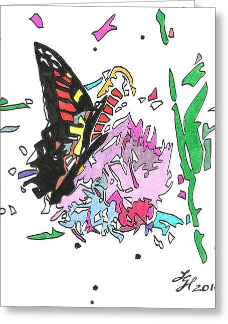Butterfly2010 Greeting Card