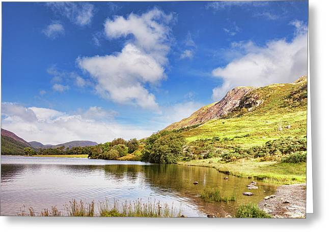 Buttermere, English Lake District Greeting Card by Colin and Linda McKie