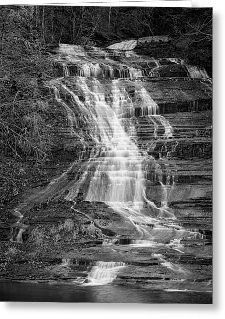 Buttermilk Falls #2 Greeting Card by Stephen Stookey