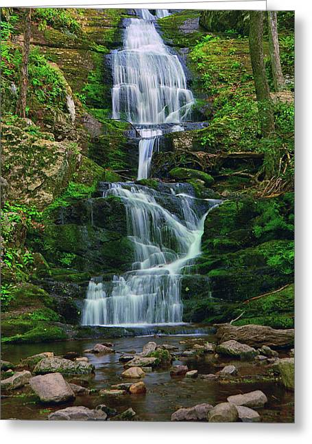 Buttermilk Falls 5 Greeting Card by Raymond Salani III