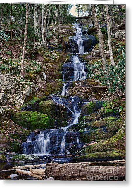Buttermilk Falls All 200 Feet Greeting Card by Paul Ward