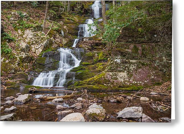 Buttermilk Falls Greeting Card by Kristopher Schoenleber