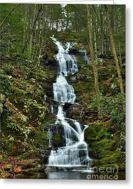 Buttermilk Falls Spring Greeting Card