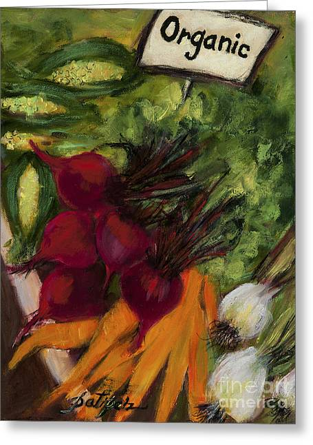 Buy Fresh Organic Produce Greeting Card