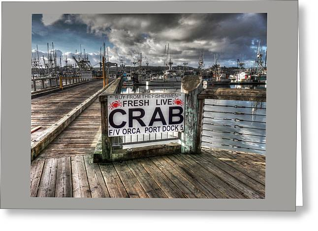 Buy From The Fisherman Greeting Card by Thom Zehrfeld