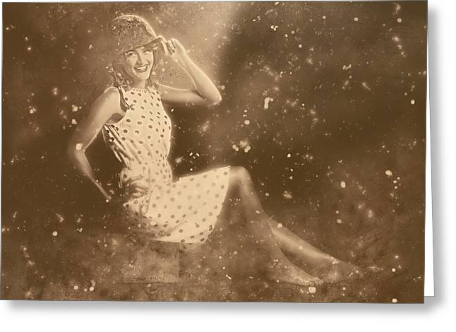 Buy War Bonds Historical Pinup Greeting Card by Jorgo Photography - Wall Art Gallery