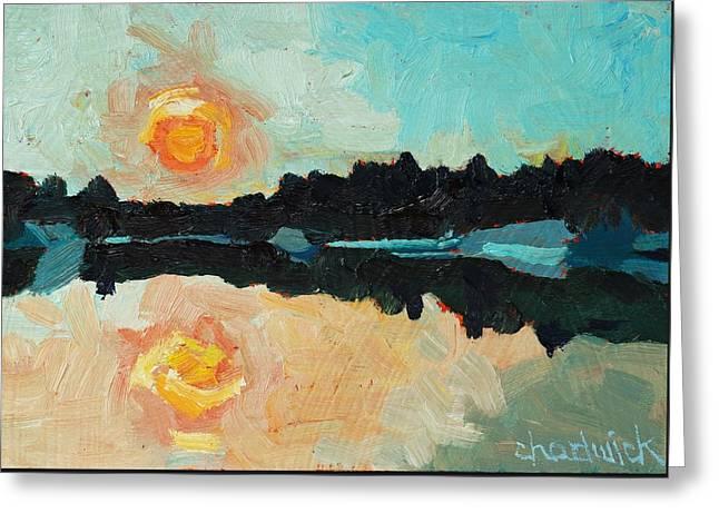 Buzzard Lake Dawn Greeting Card