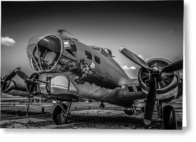 Bw B17 Flying Fortress Greeting Card