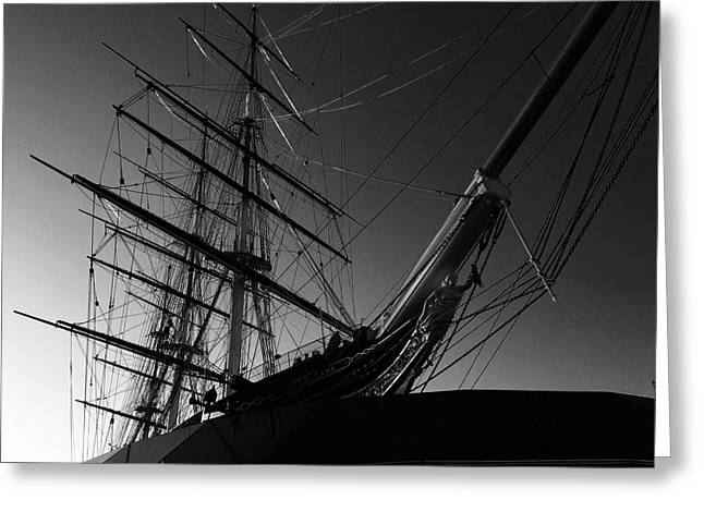 Bw Series Cutty Sark Five Greeting Card