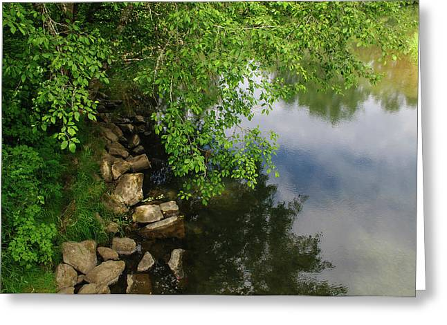 Greeting Card featuring the photograph By The Still Waters by Tikvah's Hope