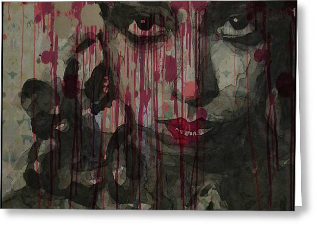 Bye Bye Blackbird Greeting Card by Paul Lovering