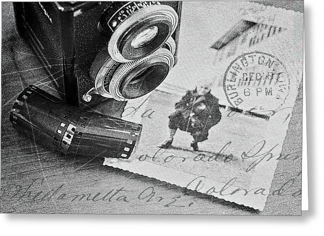 Bygone Memories Greeting Card