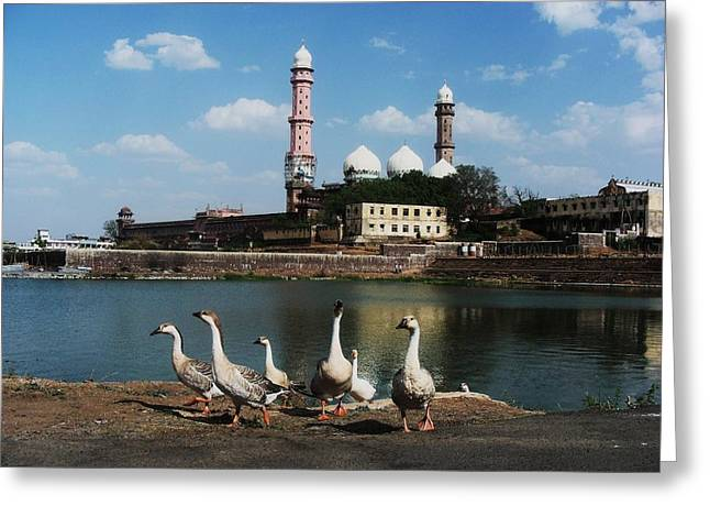 C - Bhopal Greeting Card by Mohammed Nasir