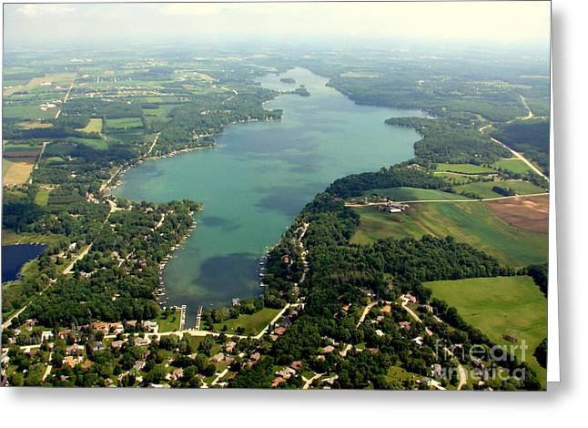 C-014 Cedar Lake Big Wisconsin Greeting Card