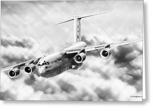 C-17 Greeting Card