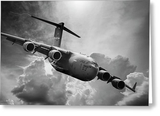 C-17 Globemaster Greeting Card
