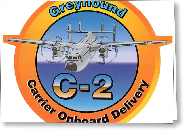 C-2 Greyhound Greeting Card