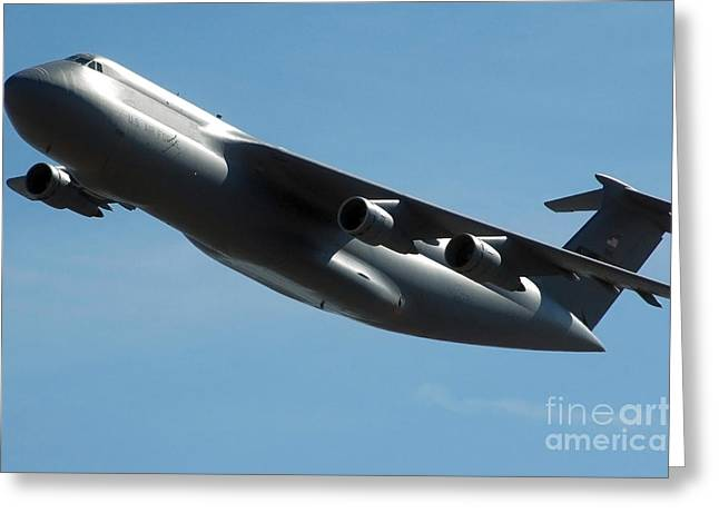 C-5 Galaxy Greeting Card by Stocktrek Images