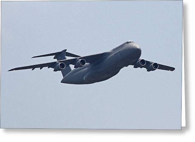 C-5b Galaxy 01 Greeting Card