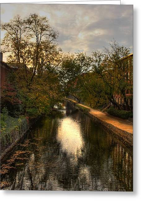C And O Canal Greeting Card
