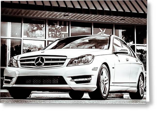 C250 In Black And White Greeting Card