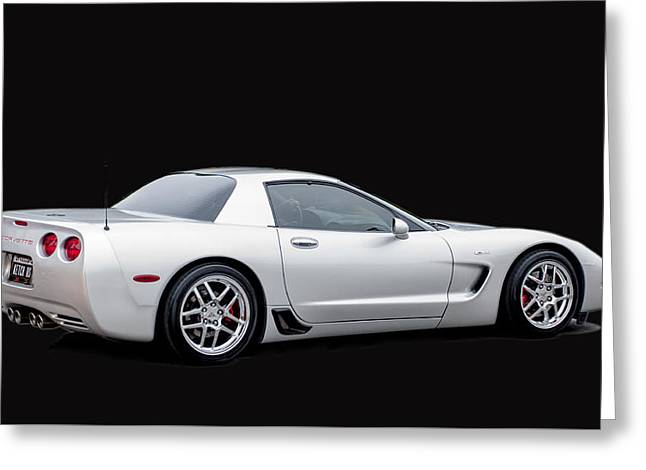 C6 Corvette Greeting Card