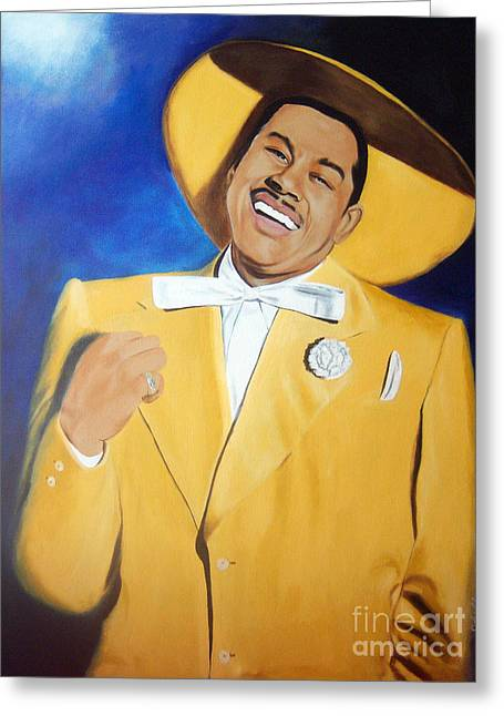 Cab Calloway In Color Greeting Card