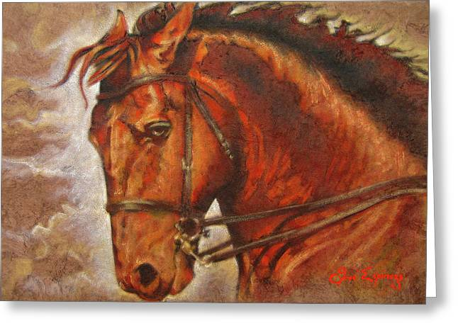Caballo I Greeting Card