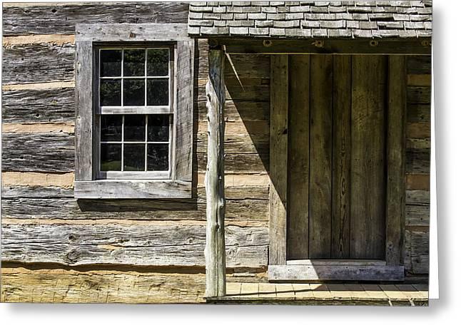 Cabin Door 01 Greeting Card