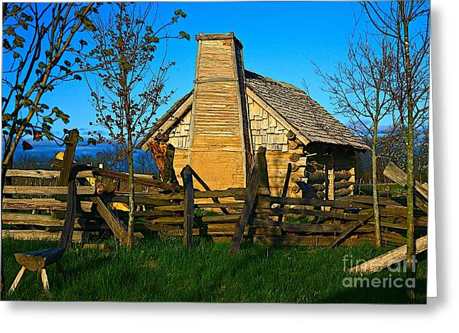Cabin Fever Greeting Card by Robert Pearson