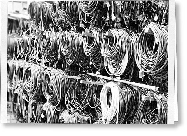 Cables! Greeting Card