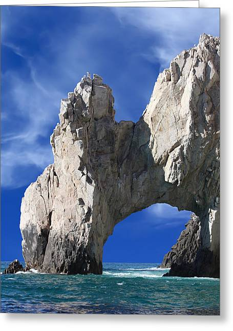 Cabo San Lucas Archway Greeting Card